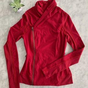 Lululemon Bhakti Yoga Jacket 6 Cranberry Red